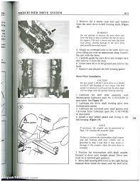 mercruiser stern drive boat engine shop manual 1964 1987