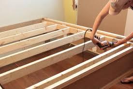 bed plans bed frame plans easy u0026 diy wood project plans