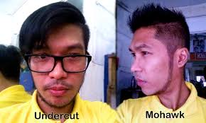philipines haircut style mohawk hairstyle and undercut hairstyle i tansyong