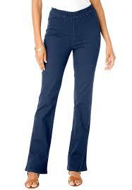 Women S Plus Size Petite Clothing Women U0027s Plus Size Petite Stretch Bootcut Jeggings Review More