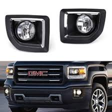 aftermarket lights for trucks 18 gmc sierra 2500 3500 hd aftermarket fog lights fogl kit