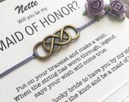asking of honor poem asking bridesmaid etsy