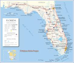 Map Of Florida Highways by Large Map Of Florida You Can See A Map Of Many Places On The