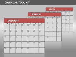 calendar template for powerpoint 2016 interactive calendar a