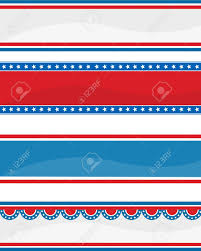 American Flag Header Collection Of Stars Ans Stripes Usa 4 Th Of July Web Header