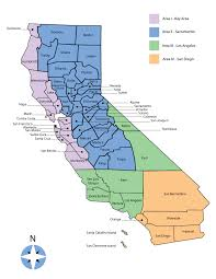 california map california dsa regions map
