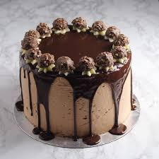 ferrero rocher cake in ahmedabad 1 2 kg cakestudio