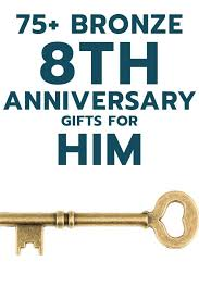 19th wedding anniversary gift the 25 best bronze anniversary gifts ideas on 8th
