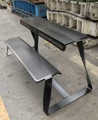 metal bench t bench by altreforme design be bold design studio