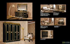 Italian Style Bedroom Furniture by Zuritalia Fara Royal Collection Luxury Italian Style Bedroom Set