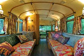 moroccan style interior transforms bus into home captivatist