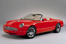 Thunderbird Convertible 2005 Two Classy Ford Concept Cars Head To Auction Stangtv