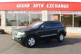 2011 jeep grand cherokee laredo green 4x4 suv