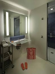 modern vintage bathroom mirror brackets frameless mirrors for also
