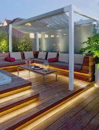 Backyard Ideas For Entertaining Best 25 Corner Deck Ideas On Pinterest Corner Patio Ideas