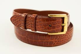 men u0027s alligator leather dress belt insta gator ranch u0026 hatchery