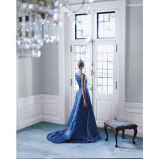 ralph lauren saltaire walls and blue carpet interiors by color