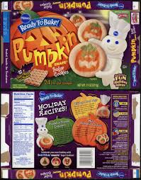 pillsbury ready to bake pumpkin shape sugar cookies box u2026 flickr