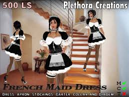 Housekeeper Meme - second life marketplace 400 l off pc french maid dress