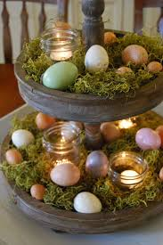 Easter Table Decorations On Pinterest by Momfessionals Easter Decorating Easter Spring Touches