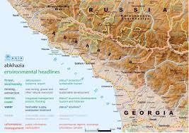 map of abkhazia maps of abkhazia detailed map of abkhazia in tourist