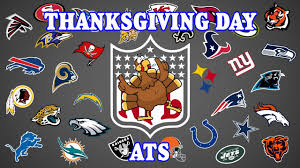 nfl 2016 thanksgiving day picks ats the spread