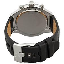 diesel padlock black dial men u0027s chronograph watch dz4439 diesel