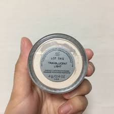 cover fx translucent setting powder light cover fx perfect setting powder 4g health beauty makeup on carousell