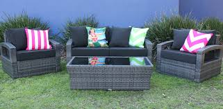 Miami Patio Furniture Stores Elegant Outdoor Lounge Setting Miami Outdoor Wicker 4 Piece Lounge