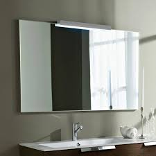 Large Framed Mirror For Bathroom by Lighted Bathroom Mirror Full Size Of Bathroom Mirror With Light