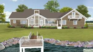 lake house plans with open floor wrap a view loft lakefro hahnow