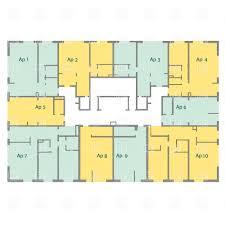 Housing Blueprints Floor Plans Exellent Apartment Building Blueprints Plans Second Floor Plan