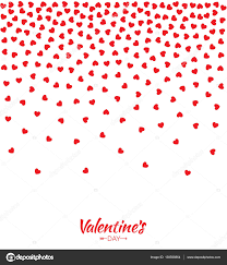 wedding backdrop vector abstract hearts gradient background for valentines day design