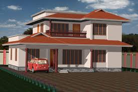 Low Cost House Plans With Estimate Low Cost Two Story House Plans In Kerala