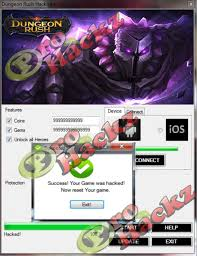 download now dungeon rush hack tool for free without survey and