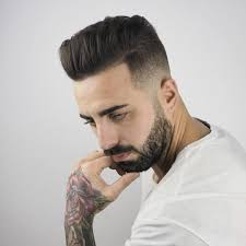 Mens Business Hairstyle by Am Academy 2017 Professional Barber And Hairdresser