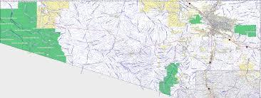 Arizona County Map Bridgehunter Com Pima County Arizona