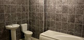 How To Clean A Bathroom Professionally How To Tile A Bathroom Wall Self Build Co Uk
