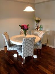How To Reupholster Dining Room Chairs A Place Of Gratitude How To Recover A Parson Chair