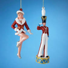 buy pack of 24 rockette dancer and soldier ornaments