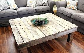 rustic square coffee table table square coffee table reclaimed wood