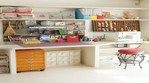 decor decorating a sewing room