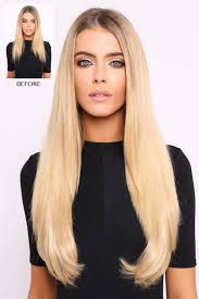 one clip in hair extensions one weft hair extensions lullabellz