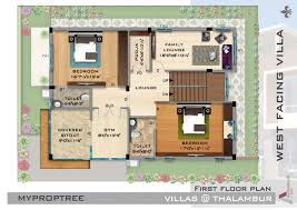 Vastu Floor Plans North Facing First Floor Plan For North Facing House