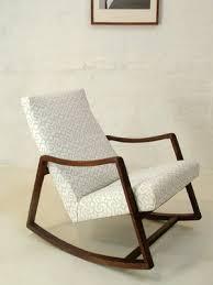 Heals Armchair 50s 60s Danish Rosewood Mid Century Rocking Chair Retro Vintage