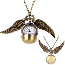 harry potter pendant necklace images Harry potter gold snitch pocket watch pendant necklace steampunk jpg