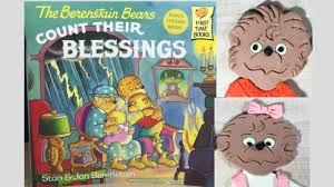 the berenstain bears count their blessings by stan jan