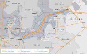 Northern Lights Map A Network Of Russian Veins Of Influence Gas Pipelines Of The