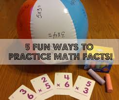 5 fun ways to practice math facts