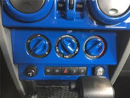tiffany blue jeep interior amazon com opar blue center dash accents for 2007 2010 jeep jk